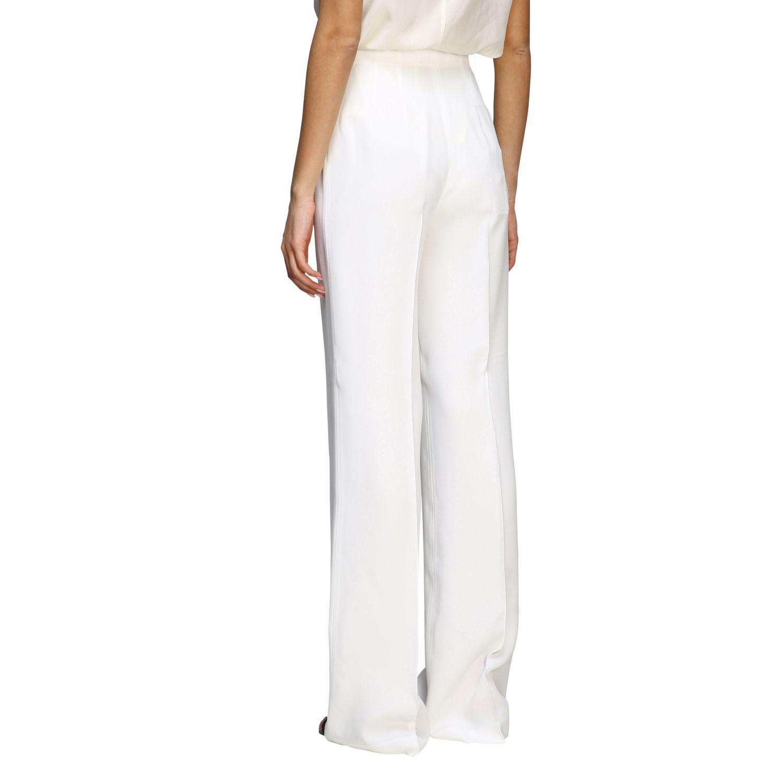 Pants Alberta Ferretti: Alberta Ferretti high waist trousers white 3