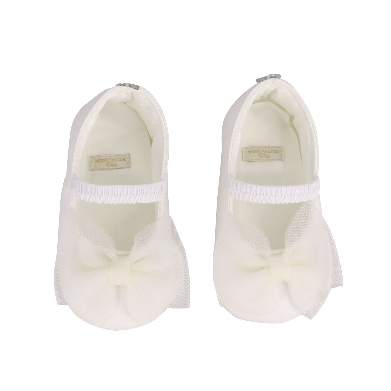 鞋履 儿童 Monnalisa Chic 奶油黄 3