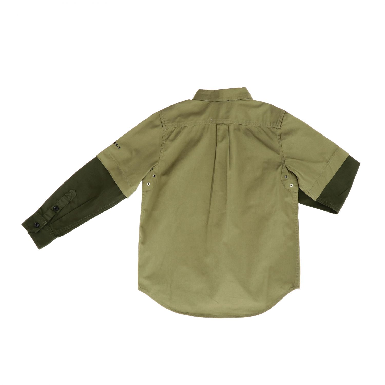 Shirt kids Diesel green 2