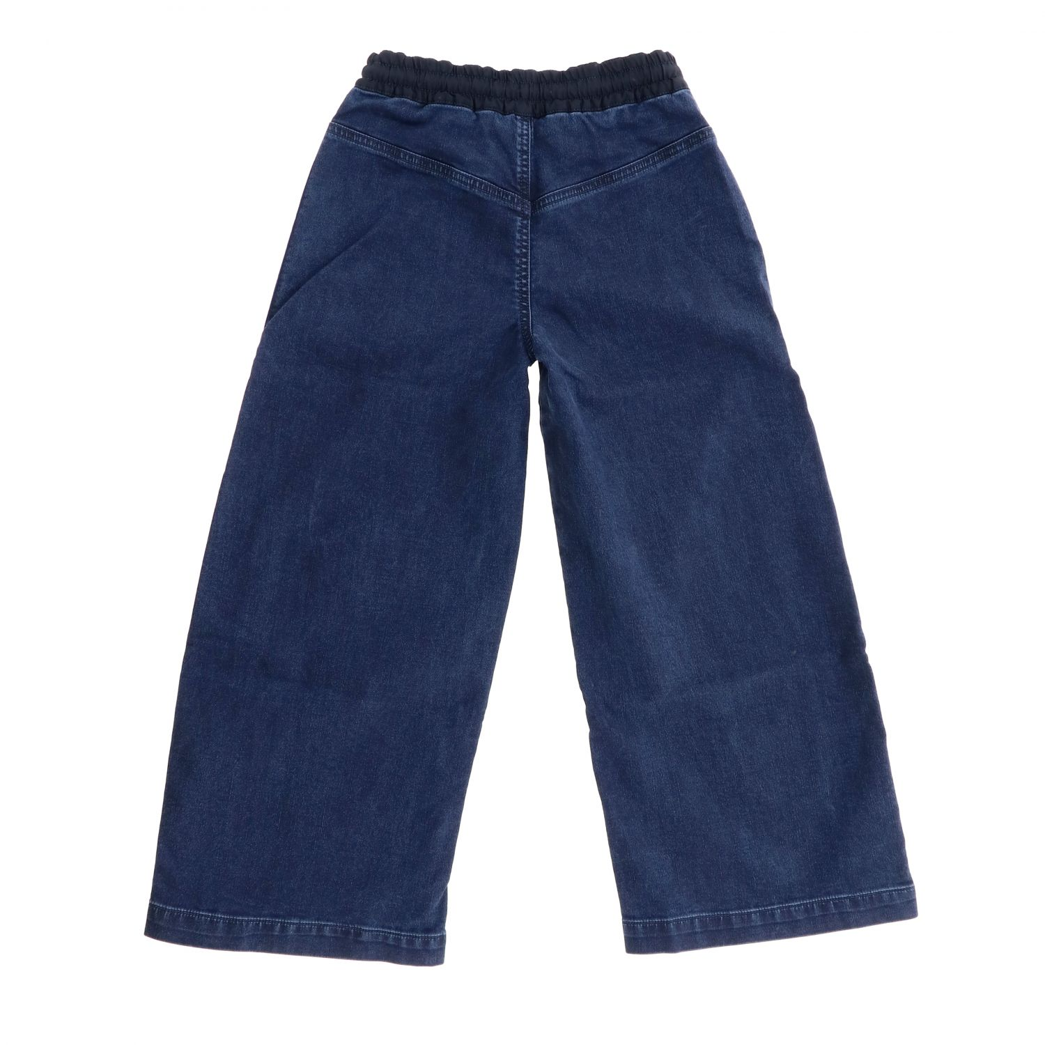 Pantalone Diesel: Pantalone Diesel con zip e coulisse con bande a righe blue 2
