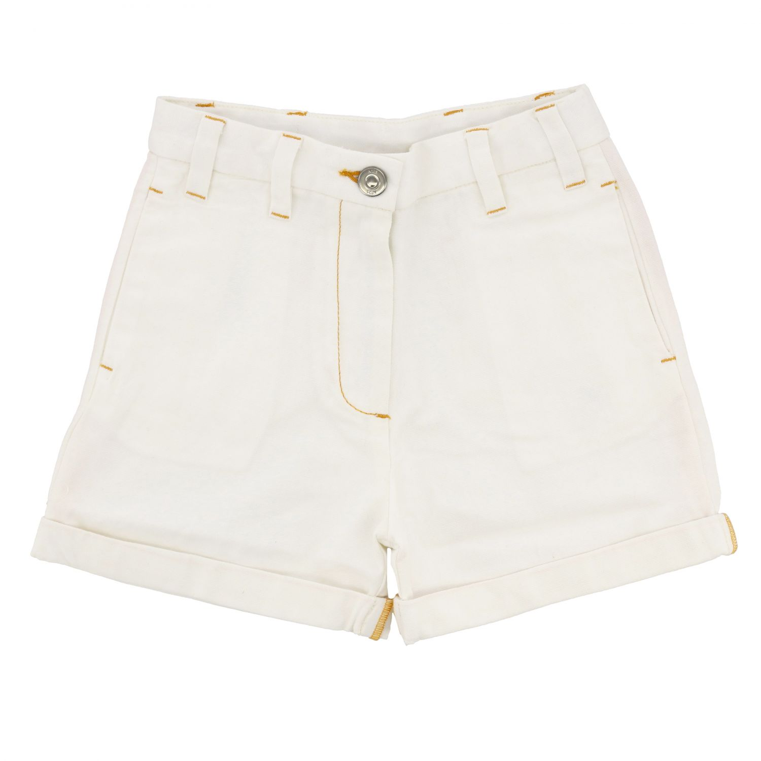Shorts kids N° 21 white 1