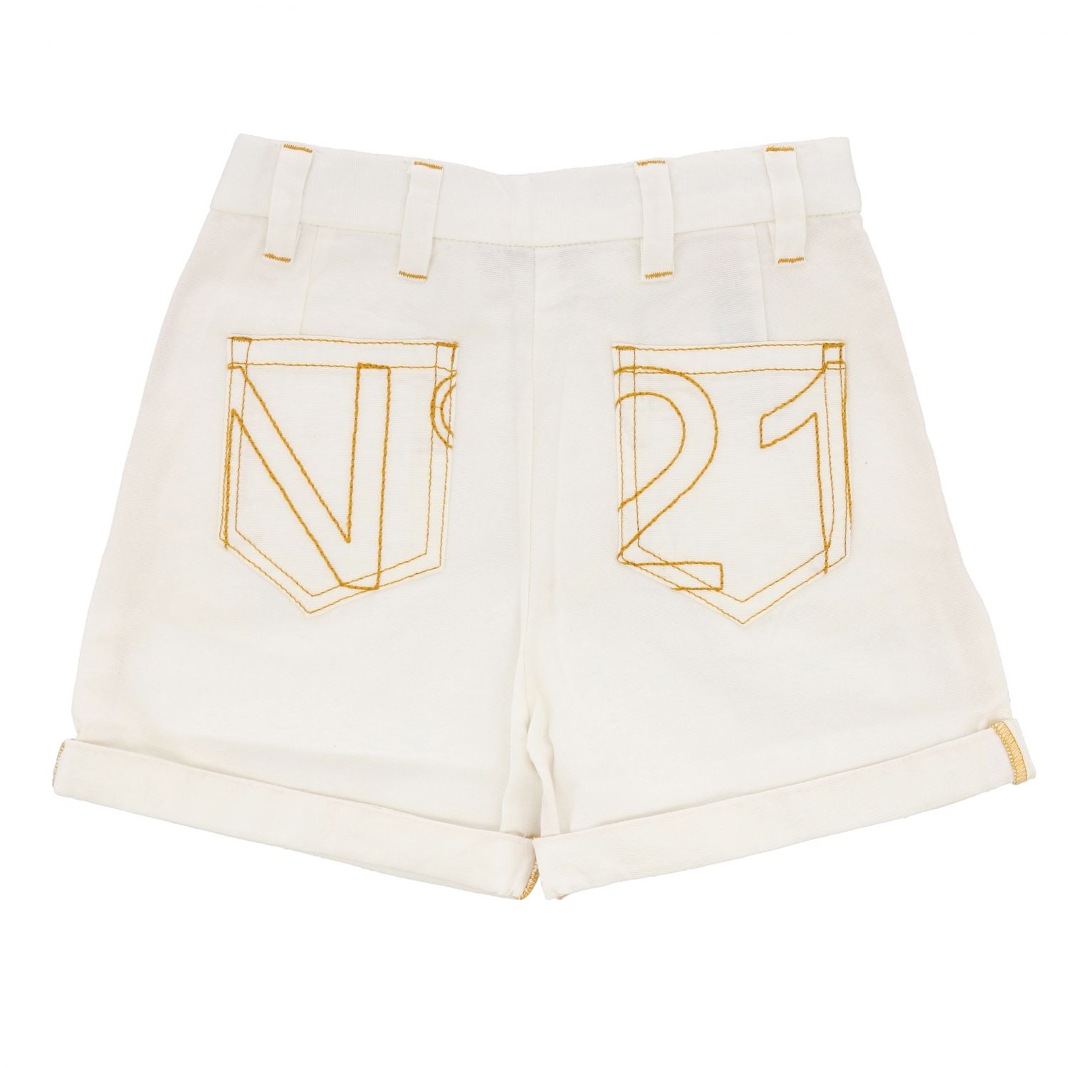 Shorts kids N° 21 white 2