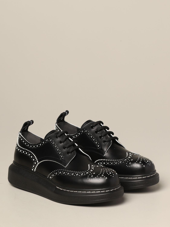 Zapatos de cordones mujer Mcq Mcqueen blanco 2