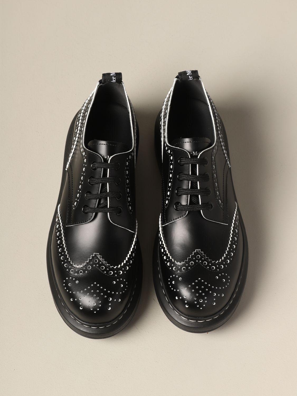 Zapatos de cordones mujer Mcq Mcqueen blanco 3