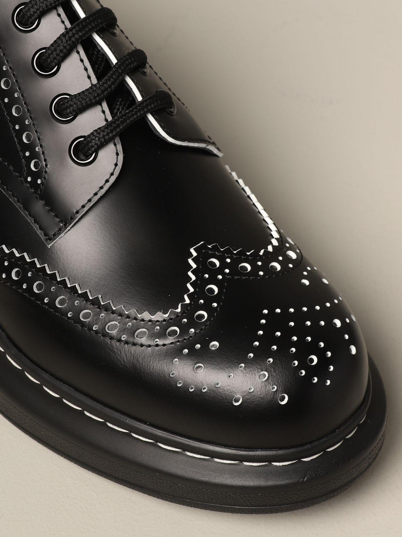 Zapatos de cordones mujer Mcq Mcqueen blanco 4