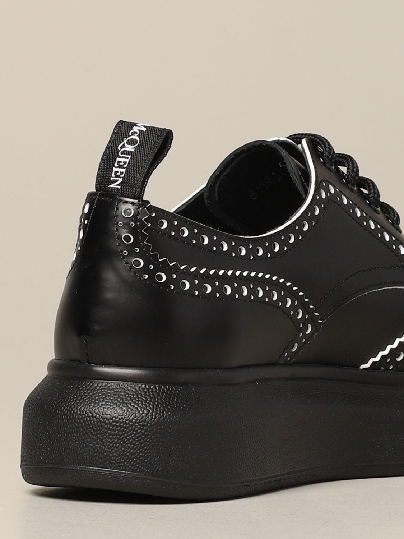 Zapatos de cordones mujer Mcq Mcqueen blanco 5