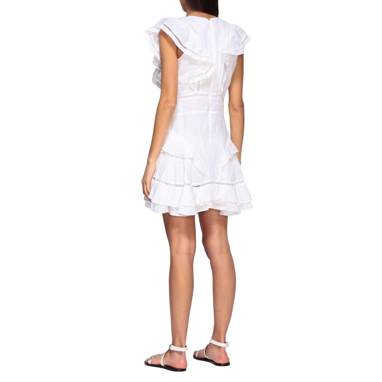 Kleid damen Isabel Marant Etoile weiß 2