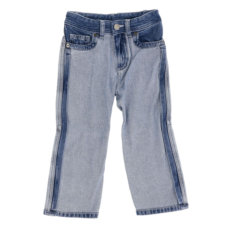 Jeans N° 21: N ° 21 jeans in used two-tone effect denim denim 1