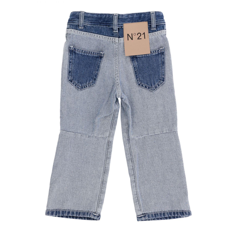 Jeans N° 21: N ° 21 jeans in used two-tone effect denim denim 2