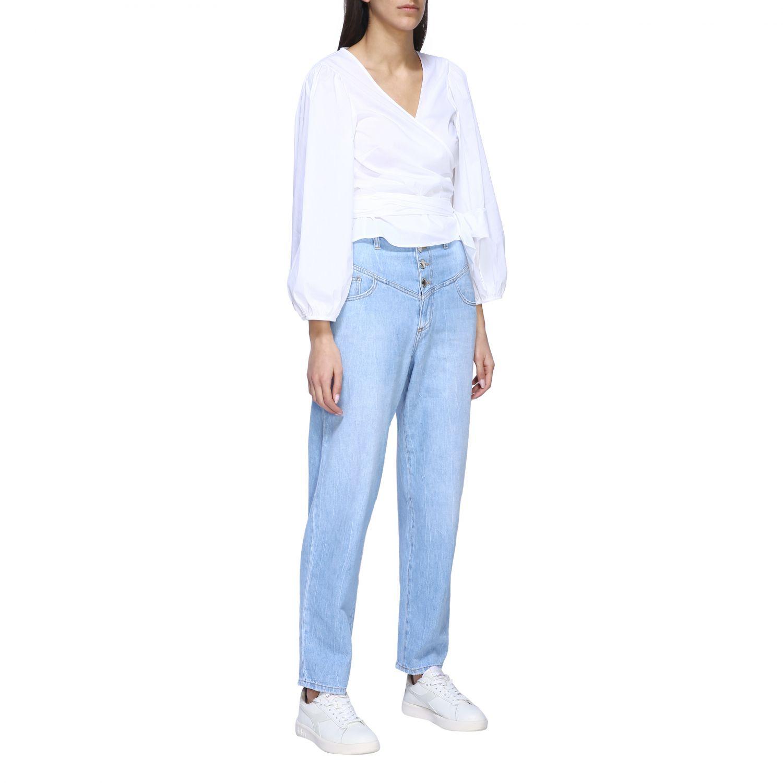 衬衫 女士 Semicouture 白色 2