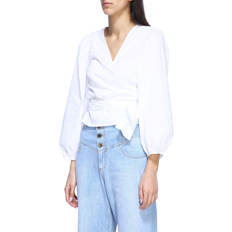衬衫 女士 Semicouture 白色 4