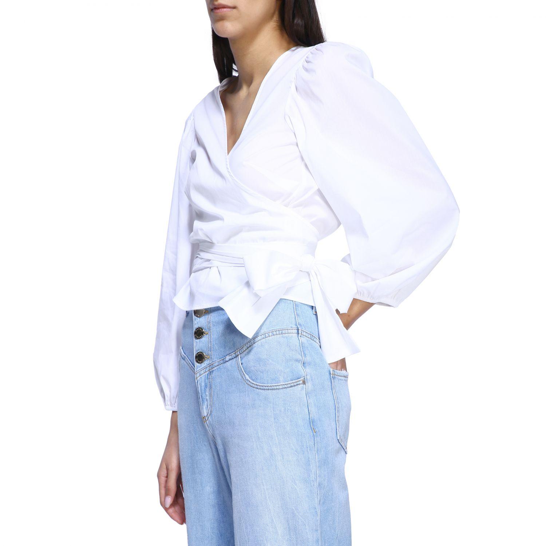 衬衫 女士 Semicouture 白色 5