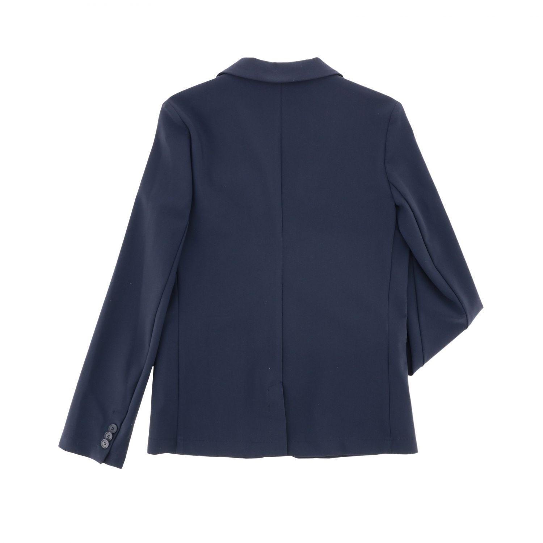 Single-breasted Il Gufo jacket blue 2