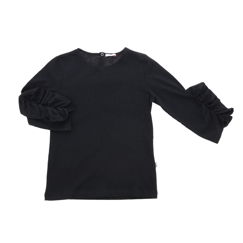 T-shirt enfant Il Gufo noir 1
