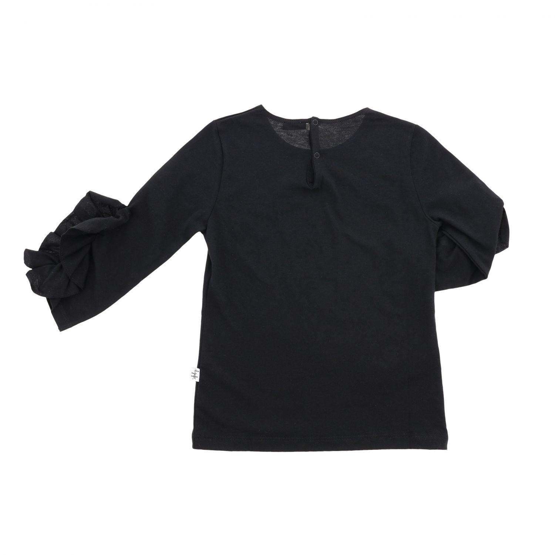 T-shirt enfant Il Gufo noir 2