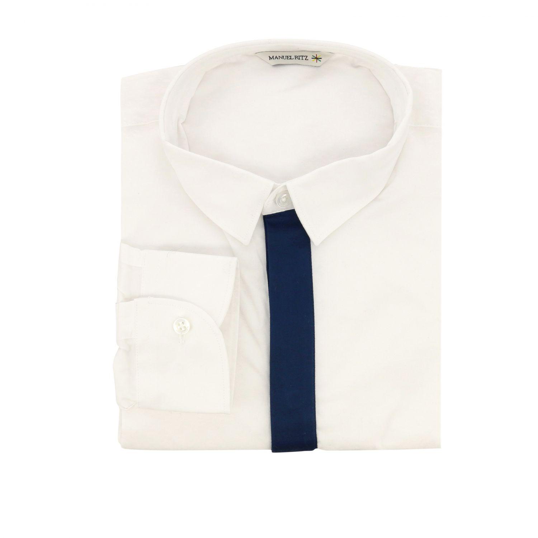 Рубашка Детское Manuel Ritz белый 1