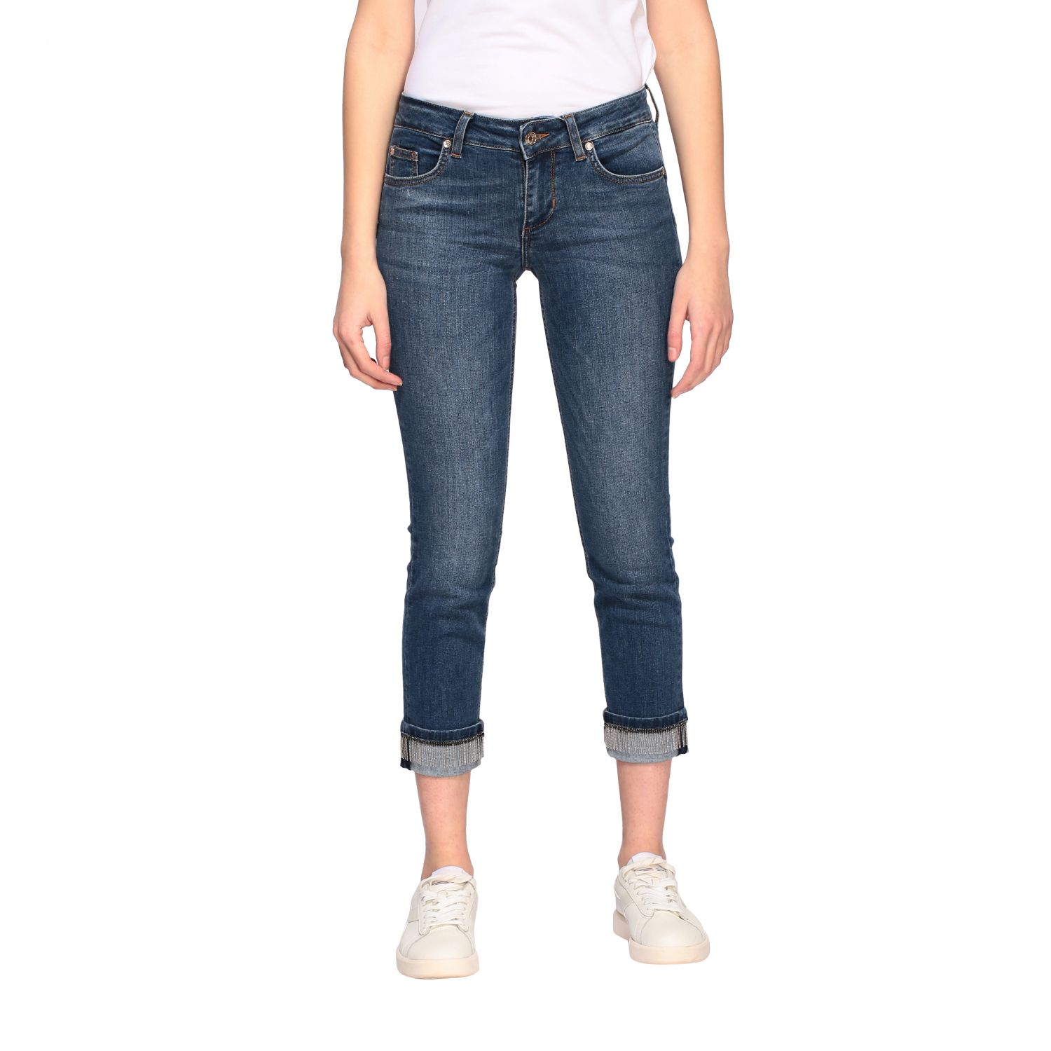 Jeans Liu Jo slim fit a vita bassa denim 1