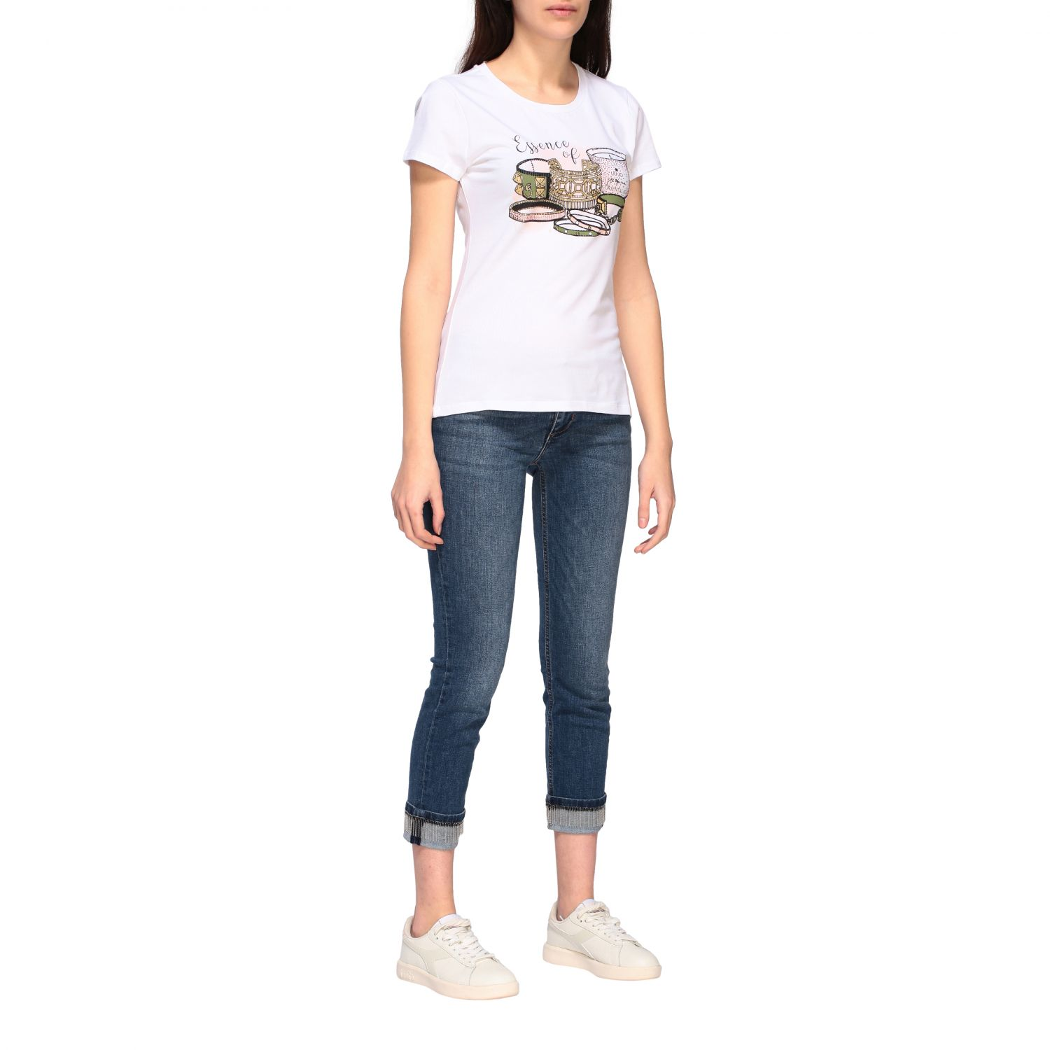 Jeans Liu Jo slim fit a vita bassa denim 2