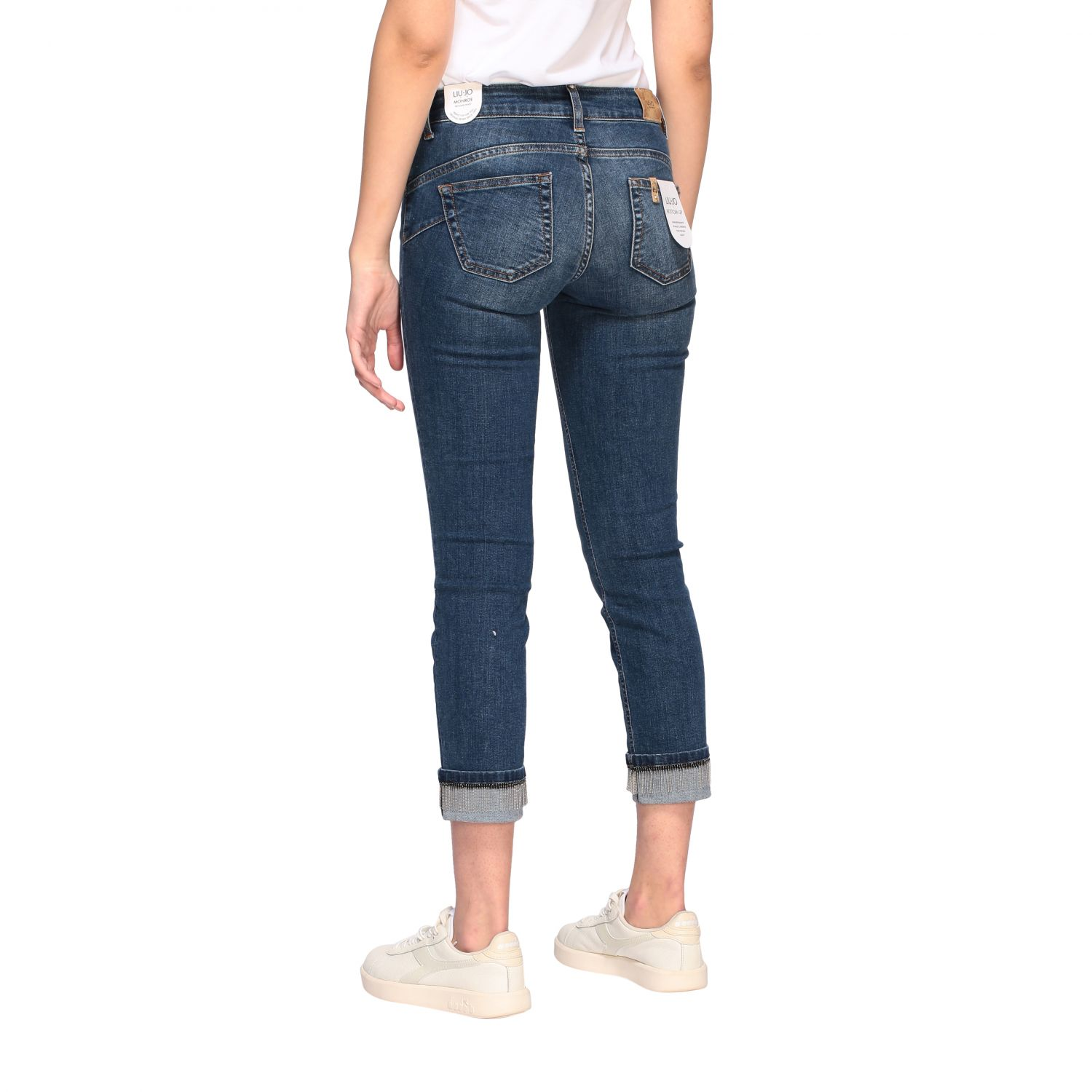 Jeans Liu Jo slim fit a vita bassa denim 3