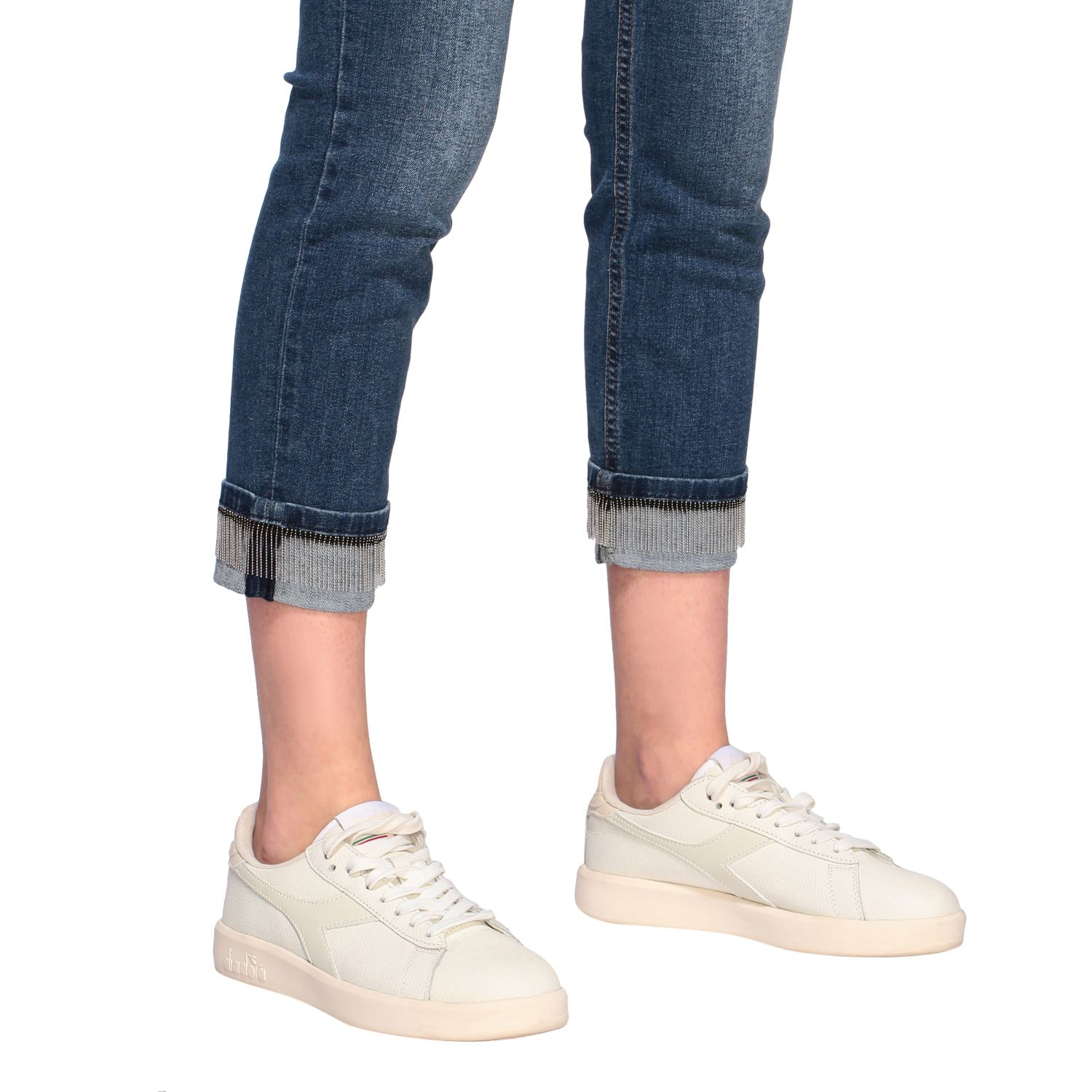 Jeans Liu Jo slim fit a vita bassa denim 5