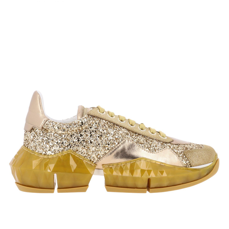 Спортивная обувь Jimmy Choo: Спортивная обувь Женское Jimmy Choo золотой 1