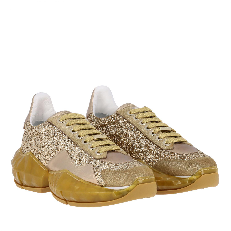 Спортивная обувь Jimmy Choo: Спортивная обувь Женское Jimmy Choo золотой 2