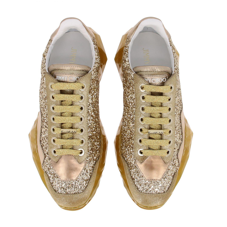 Спортивная обувь Jimmy Choo: Спортивная обувь Женское Jimmy Choo золотой 3