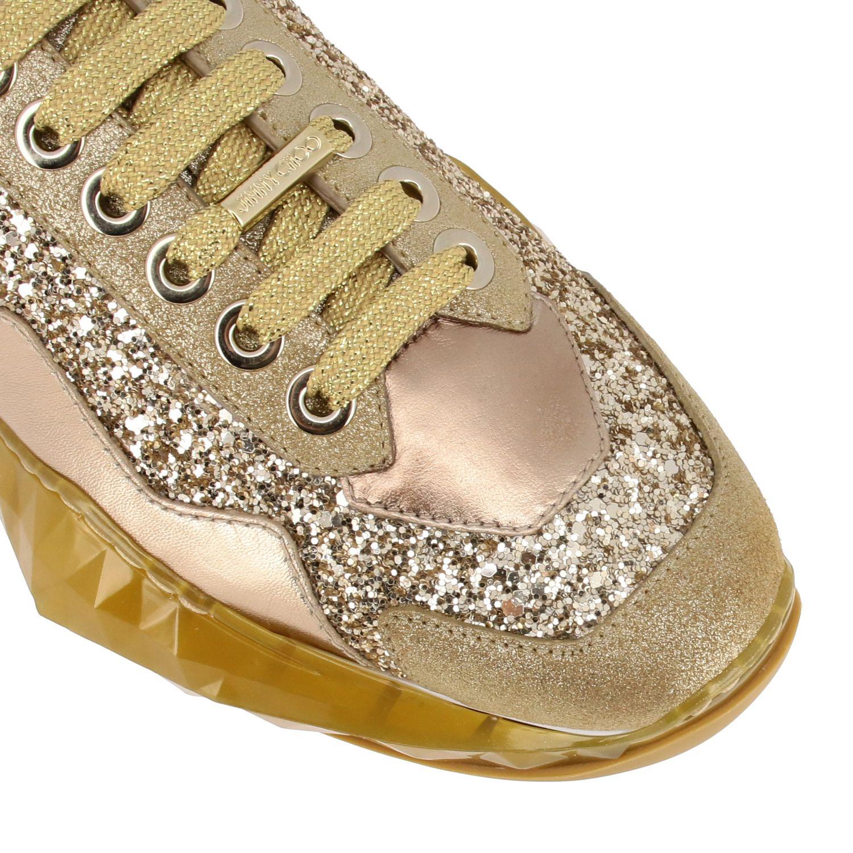 Спортивная обувь Jimmy Choo: Спортивная обувь Женское Jimmy Choo золотой 4