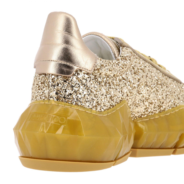 Спортивная обувь Jimmy Choo: Спортивная обувь Женское Jimmy Choo золотой 5