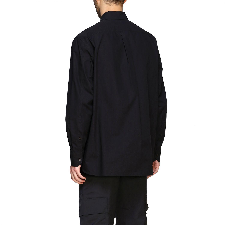 Camicia Valentino con stampa VLTN e stella nero 3