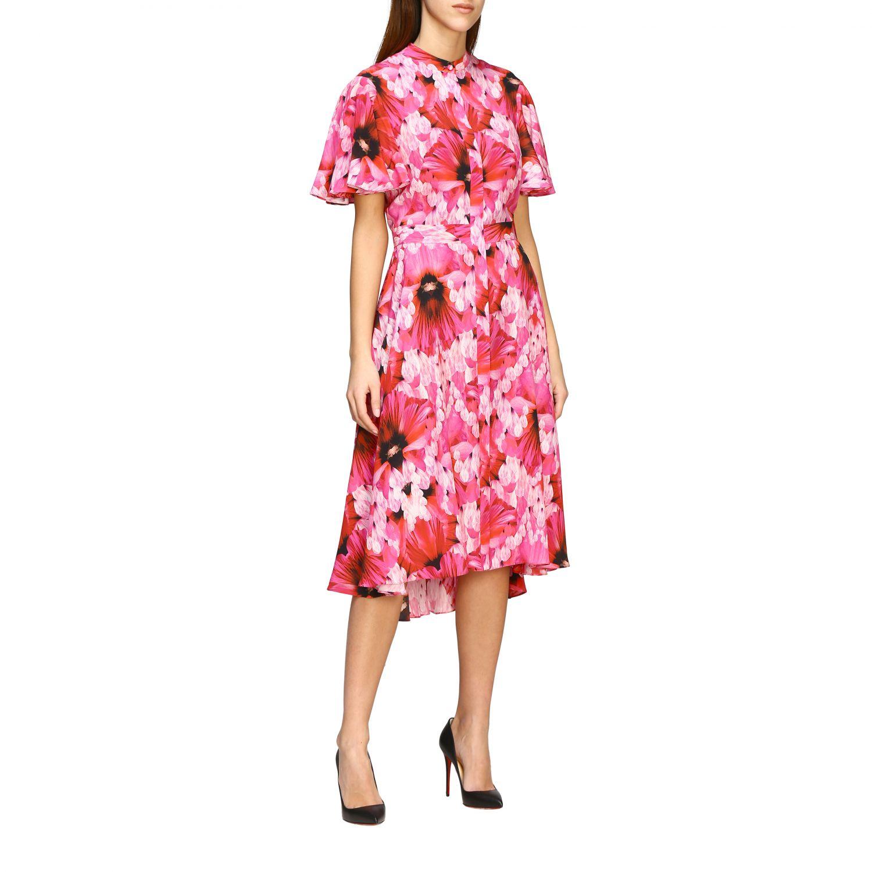 Dress Alexander Mcqueen: Dress women Alexander Mcqueen pink 1