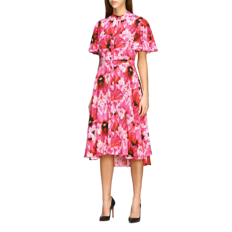 Dress Alexander Mcqueen: Dress women Alexander Mcqueen pink 3