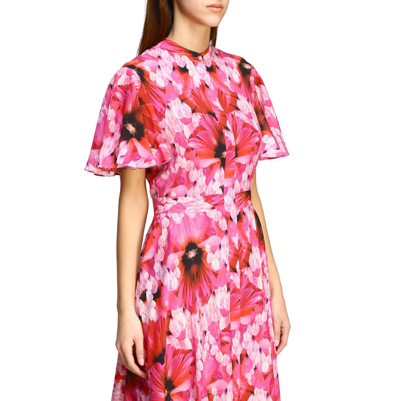 Dress Alexander Mcqueen: Dress women Alexander Mcqueen pink 4