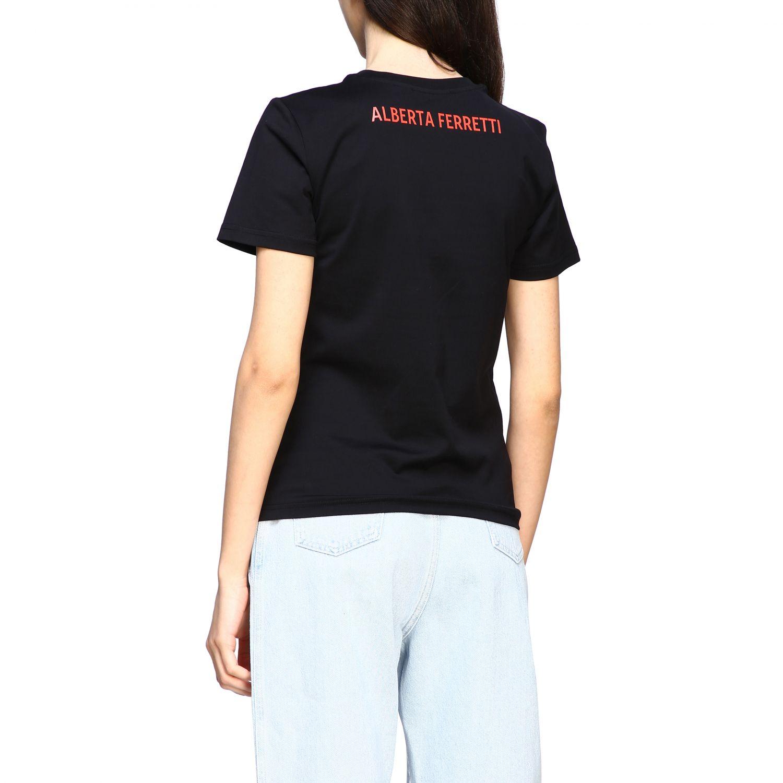 T-Shirt Alberta Ferretti: T-shirt women Alberta Ferretti black 3