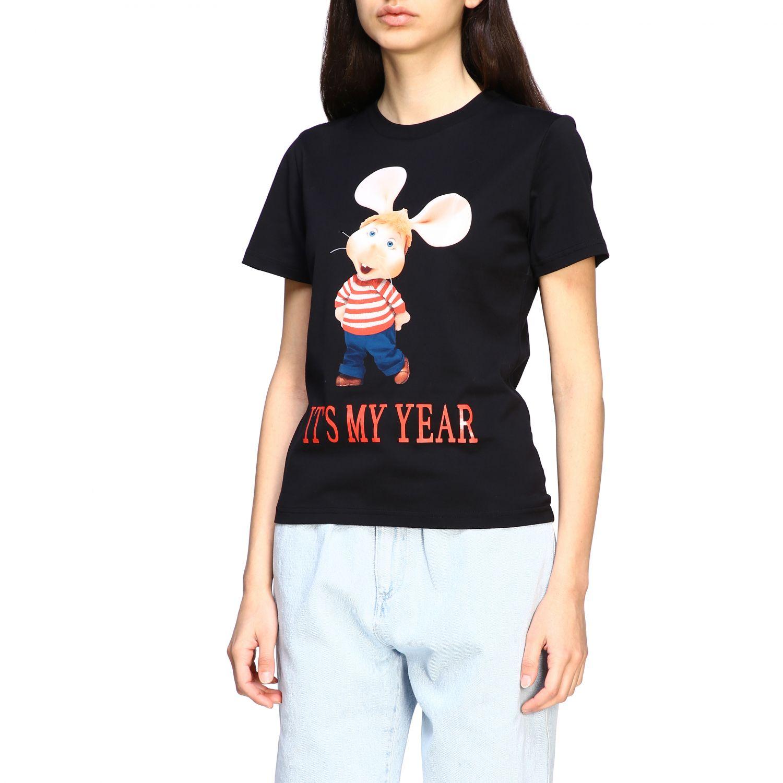T-Shirt Alberta Ferretti: T-shirt women Alberta Ferretti black 4