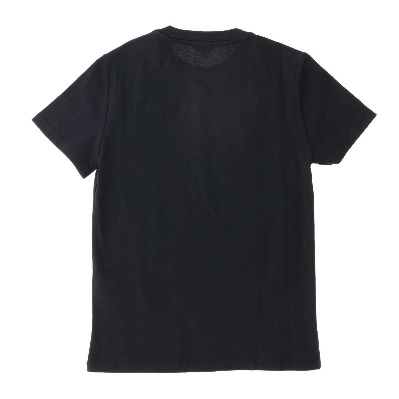 T-shirt kids Kenzo Junior black 2