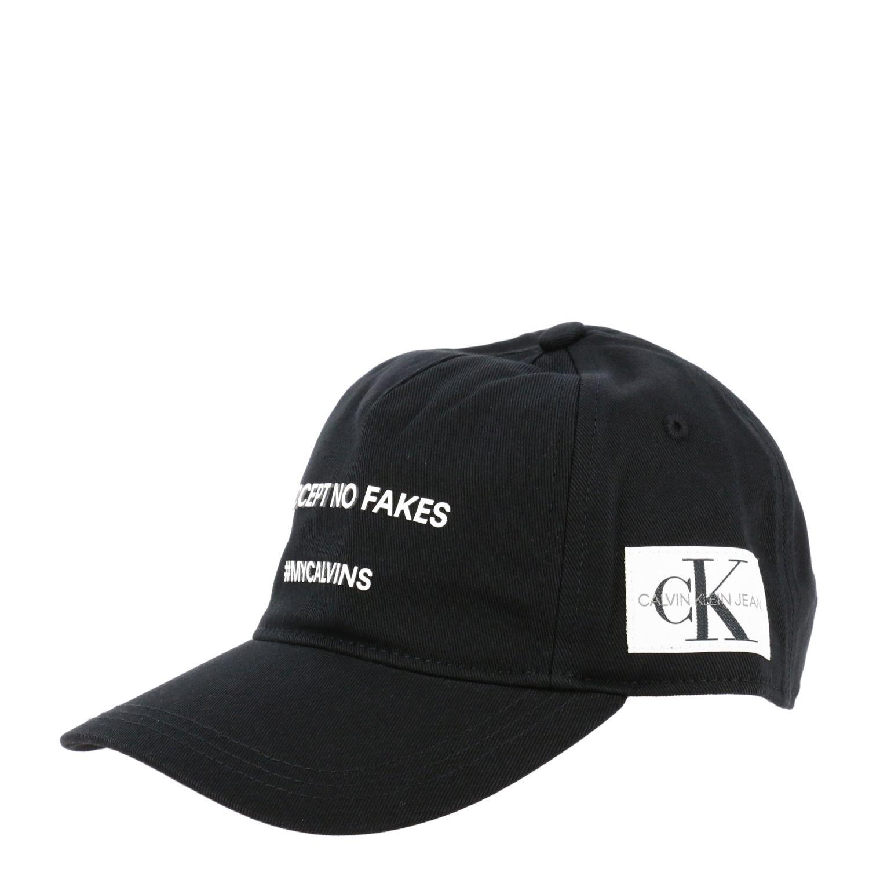 Calvin Klein Baseballmütze mit Logo schwarz 1