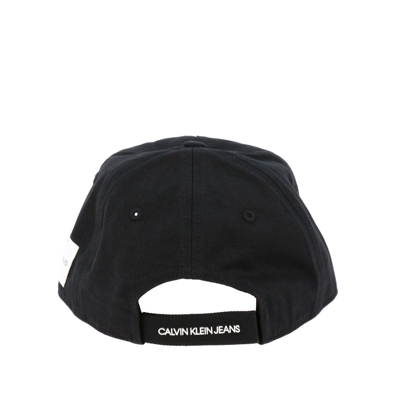 Calvin Klein Baseballmütze mit Logo schwarz 3