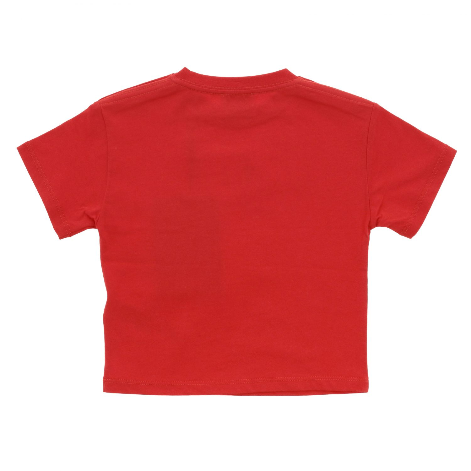 T-shirt Burberry Infant: T-shirt Burberry Infant a maniche corte con logo rosso 2