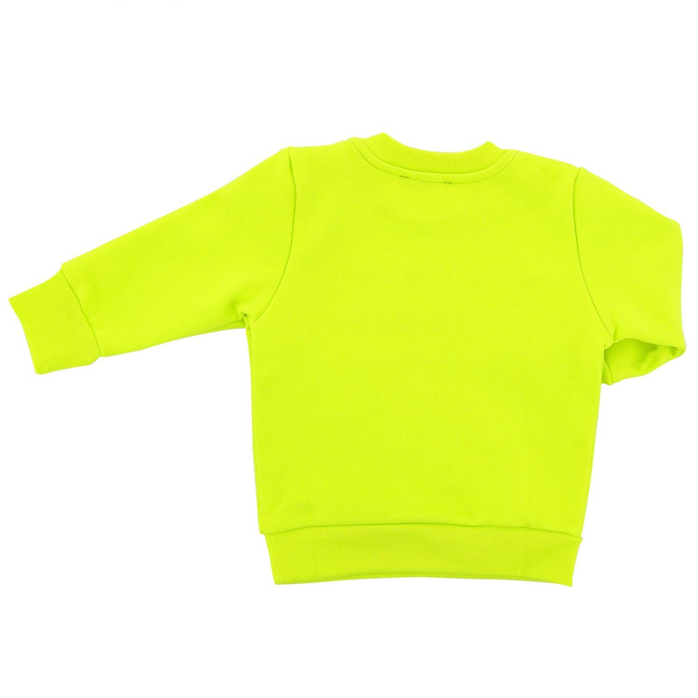 Толстовка с круглым вырезом и логотипом Детское Diesel желтый 2