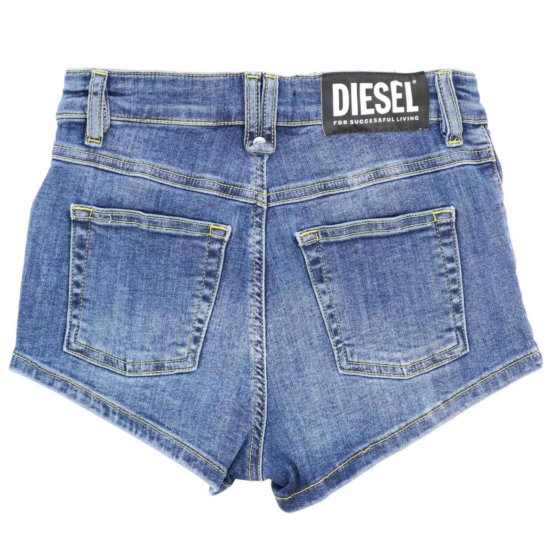 Shorts Diesel: Shorts kids Diesel blue 2