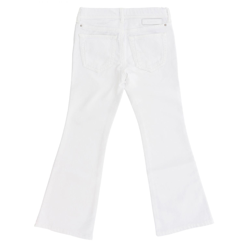 Pantalone Diesel: Pantalone Diesel con fondo ampio bianco 2