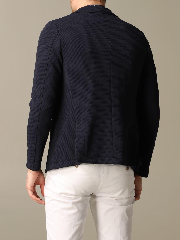Blazer Daniele Alessandrini: Jacket men Daniele Alessandrini blue 2