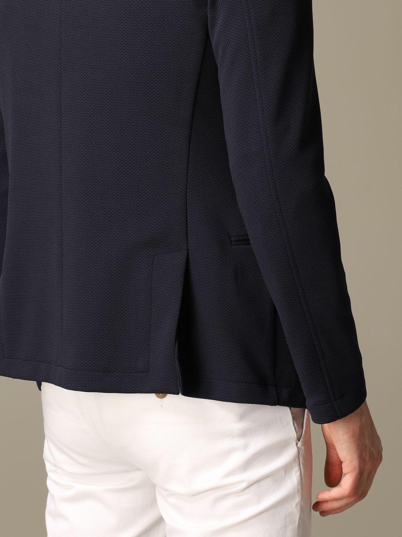 Blazer Daniele Alessandrini: Jacket men Daniele Alessandrini blue 3