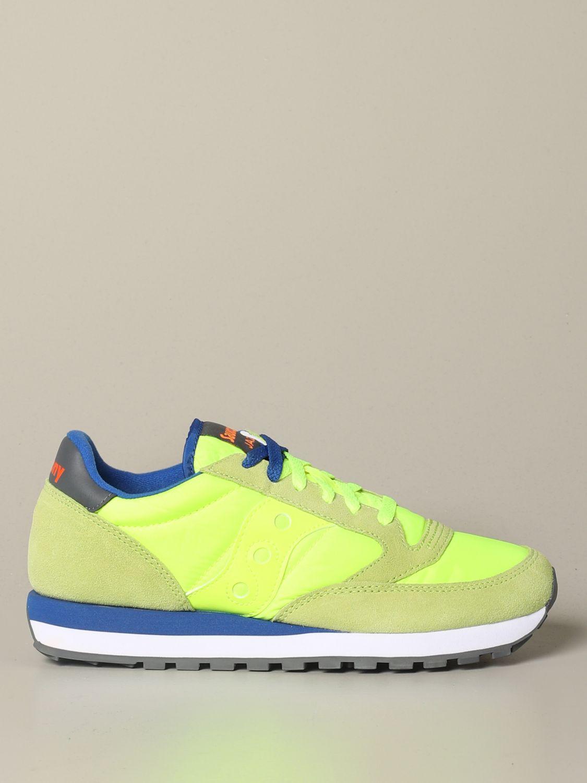 运动鞋 Saucony: 运动鞋 男士 Saucony 蓝色 2 1