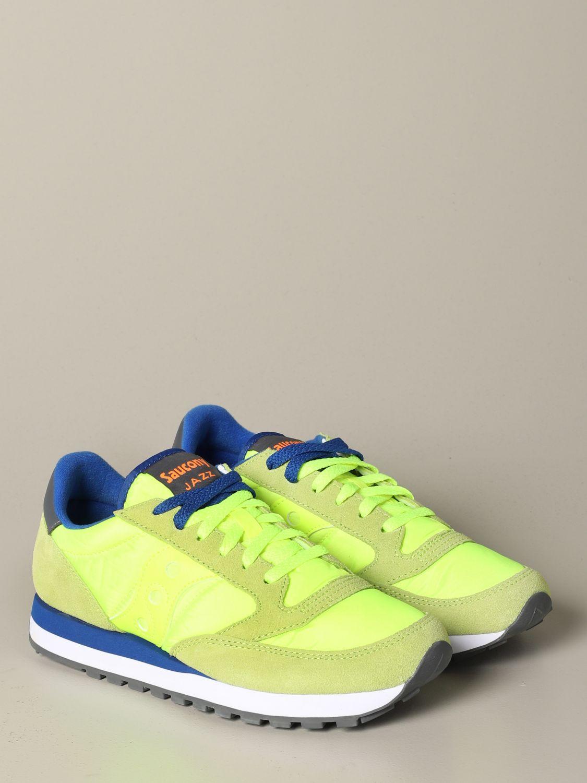 运动鞋 Saucony: 运动鞋 男士 Saucony 蓝色 2 2