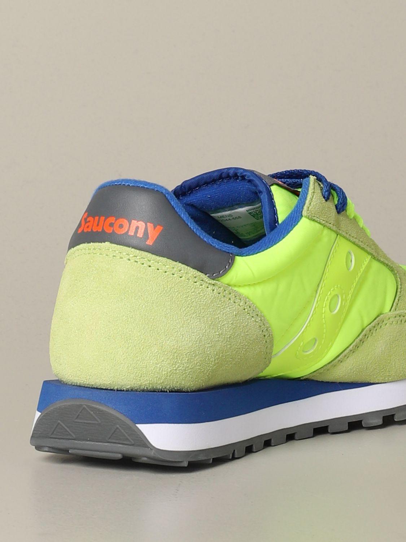 运动鞋 Saucony: 运动鞋 男士 Saucony 蓝色 2 3