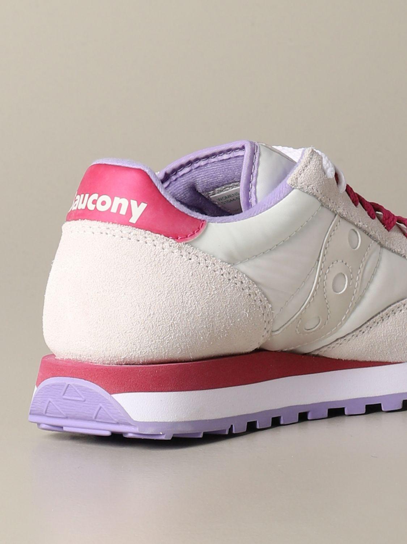 Baskets Saucony: Baskets femme Saucony blanc 3