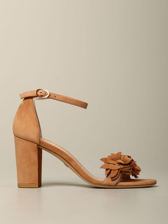 Sandales à talons Stuart Weitzman: Sandales à talons femme Stuart Weitzman cuir 1