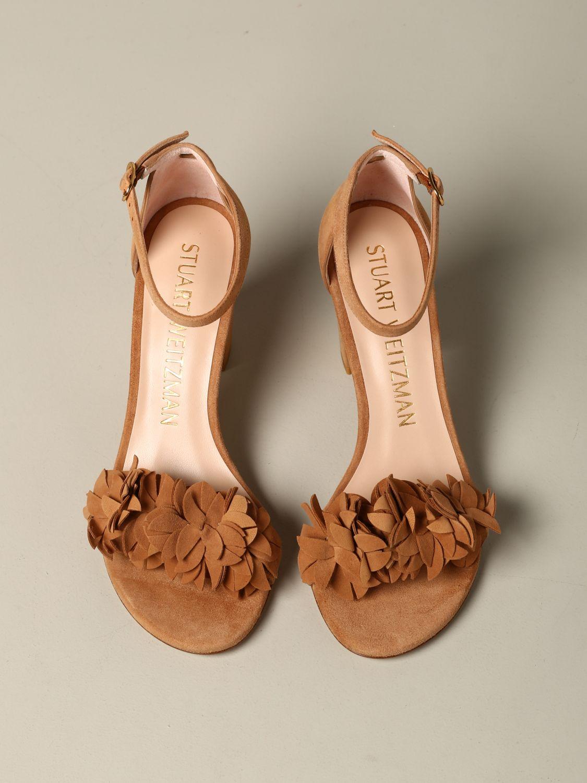Sandales à talons Stuart Weitzman: Sandales à talons femme Stuart Weitzman cuir 3